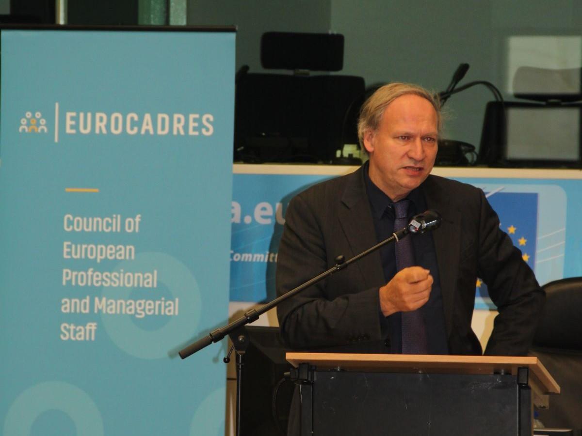 Detlef Eckert, DG Employment, European Commission, keynote speech on mobility