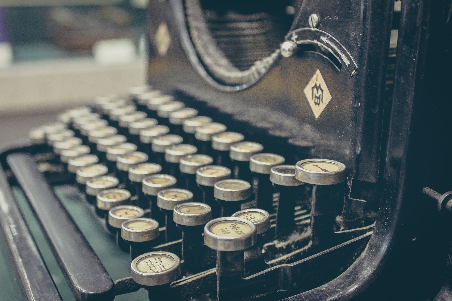 typing machine office