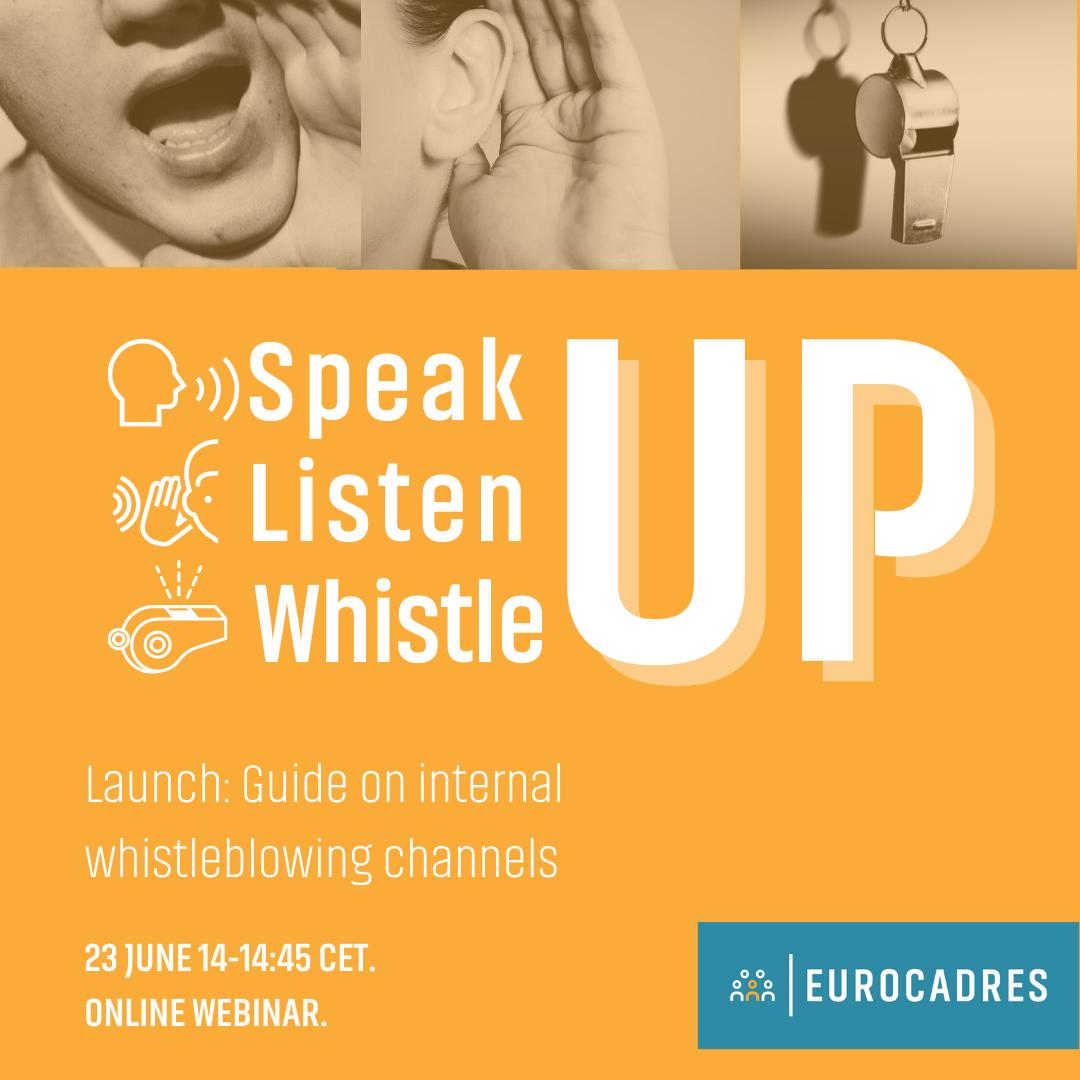 Speak, listen, whistle UP - Instagram